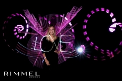 Love en light painting