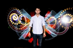 Effets de lumiere, animation photo light painting