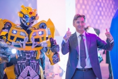 Photo d'un Bumblebee, un des Transformers