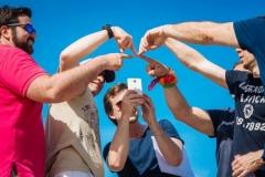 Reportage photo d'une activité Team Building à Ibiza